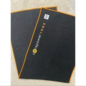 manduka Other - Manduka CorePower Yoga Yogitoes Towel